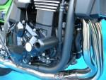 クラッシュプロテクター ZRX1200 DAEG 黒色