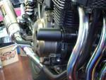 クラッシュプロテクター ZRX400 黒色