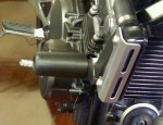 クラッシュプロテクター ホーネット250 黒色