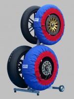タイヤウォーマー 17inch 250 モタード (青色)